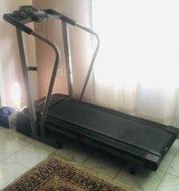 Lock down compact Proform treadmill
