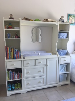 Baby changing unit from Pottery Barn