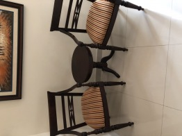 Wooden Tea table set