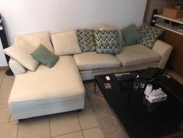 Beautiful Sofa with cushions