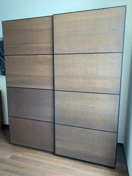 IKEA PAX wardrobe 200(W) x 236(H) cm