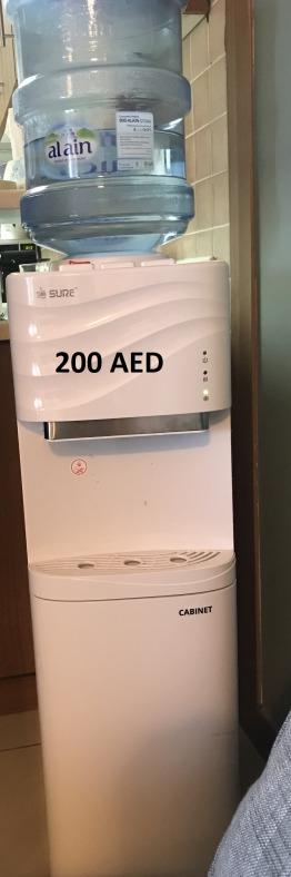 Water Cooler- SURE w/ fridge cabinet