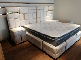 Stylish bed for sale
