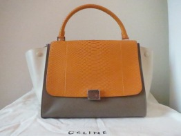 Brand New Authentic Large Celine Trapeze Bag
