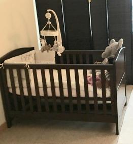 Baby cot Ashford Mammas and Pappas + matress