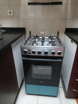 Candy Washing machine  and Midea Gas Cooker