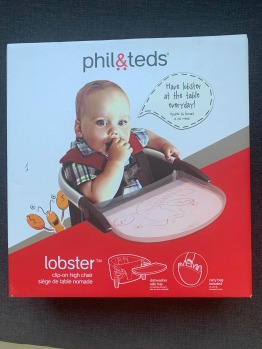 Phil & Ted Lobster Portable Highchair