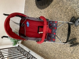Toddler Light weight Stroller and Car Booster Seat
