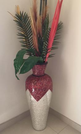 Mirrorwork Vase