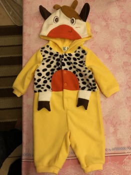 Baby constumes (2 sets) - 40 aed each
