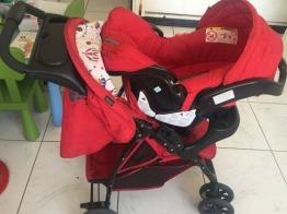 Graco Mirage Plus Travel System (Stroller & Car Seat)