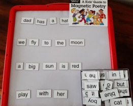 Magnetic Word / Poetry Kit