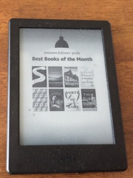 Kindle 6-inch touchscreen