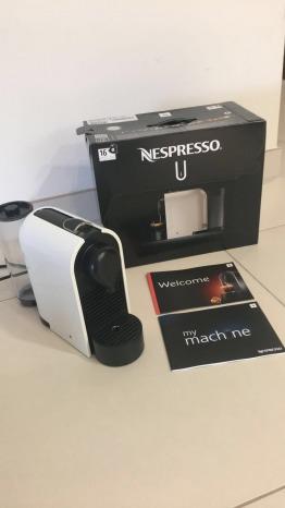 Nespresso U coffee machine for sale - rarely used