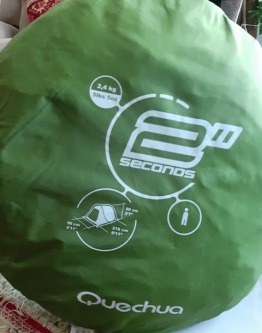 Quecha 2seconds One Person Tent