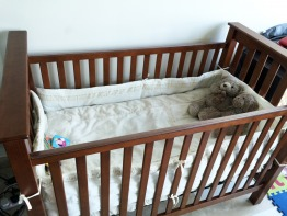 Pottery Barn Kendall Low Profile Crib Cot