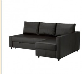 Ikea Sofa bed with storage