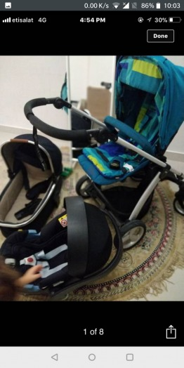 Mama's and Papa's stroller set