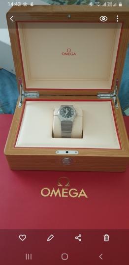 Brandnew omega constellation watch