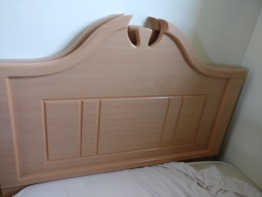 Single Bed Base and Headboard