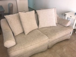 2x Sofa - Purchased from The One 2000 AED / 3yrs old