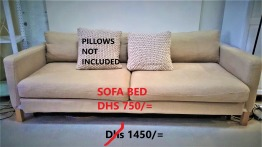 pre-loved sofa bed for urgent sale