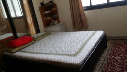 Wooden Bed with FREE mattress for IMMEDIATE SALE