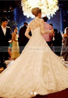 Wedding dress , size 10