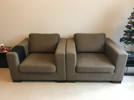 home center sofa set (4 x singles)