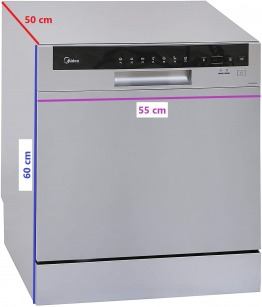 Portable Dishwasher (8 Place capacity) + Add-ons