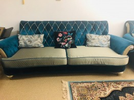 3 Sofa m each wit 3 seats , less used ,