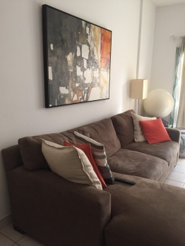 Crate & Barrel Lounge Sofa For Sale