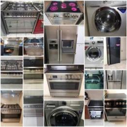 Kitchen Appliances Washer Cooker Fridge n Dishwasher 052 4826084