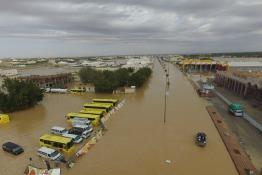Severe Floods Across Saudi Arabia