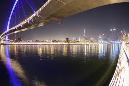 Now You Can Ride an Abra Along Dubai Canal