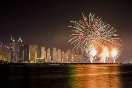 Eid Al Adha firework displays in UAE