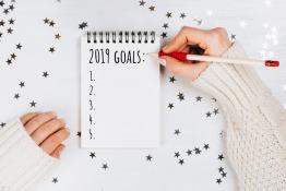 Making 2019 goals