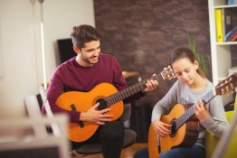 Guitar Lessons in Dubai | Melodica Music and Dance Institute