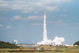 KhalifaSat launches into space