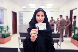 First Women's Driving Licences Issued in Saudi Arabia
