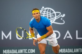 Join Rafael Nadal As He Celebrates 10 Years at the Mubadala World Tennis Championship