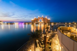 The Pointe on Palm Jumeirah for New Year's Eve in Dubai 2018