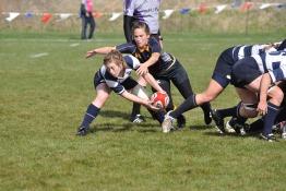 Girls playing rugby in UAE schools