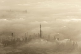 Weather alert for sand storm in Dubai and the UAE