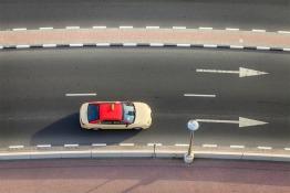Driverless taxi Dubai