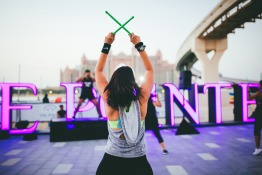 Free weekend workout at The Pointe in Dubai