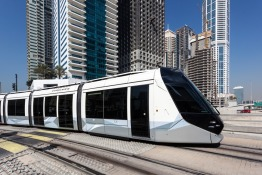 Dubai Tram and Car Crash July 2018