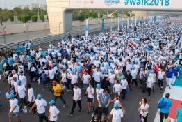 The WALK at Yas Marina Circuit in Abu Dhabi, November 2019