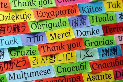 The language in Hong Kong