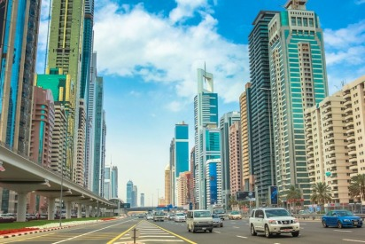Dubai Area Guide: Sheikh Zayed Road